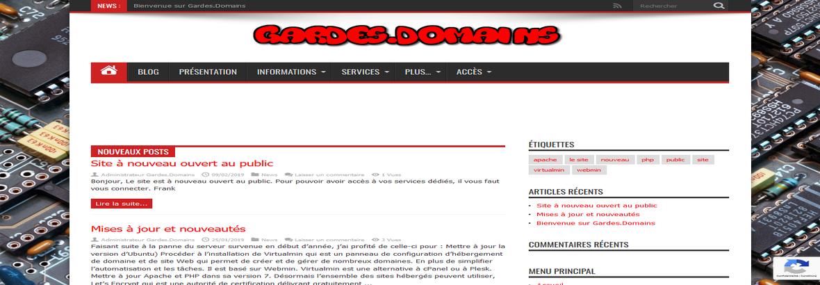 Gardes.Domains